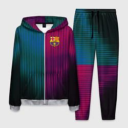 Костюм мужской Barcelona FC: Abstract 2018 цвета 3D-меланж — фото 1