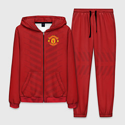 Костюм мужской Manchester United: Red Lines цвета 3D-красный — фото 1