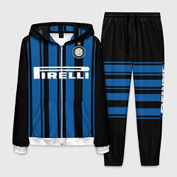 Костюм мужской Inter FC: Home 17/18 цвета 3D-белый — фото 1