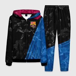Костюм мужской FC Barcelona: Abstract цвета 3D-черный — фото 1