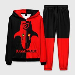 Костюм мужской Juggernaut Blood цвета 3D-черный — фото 1