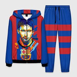 Костюм мужской Lionel Messi цвета 3D-черный — фото 1