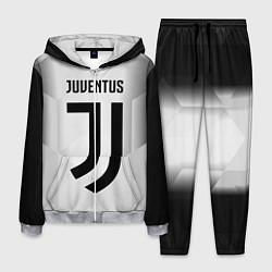 Костюм мужской FC Juventus: Silver Original цвета 3D-меланж — фото 1