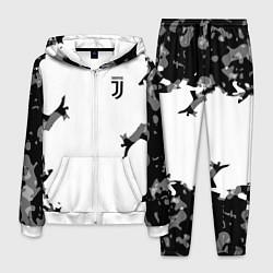 Костюм мужской FC Juventus: White Original цвета 3D-белый — фото 1