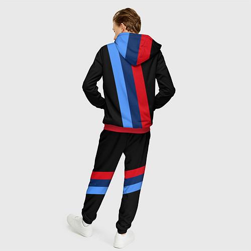 Мужской костюм BMW M: Black Sport / 3D-Красный – фото 4