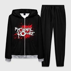 Костюм мужской My Chemical Romance: Blood цвета 3D-меланж — фото 1