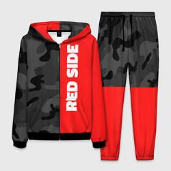 Костюм мужской Military Red Side цвета 3D-черный — фото 1