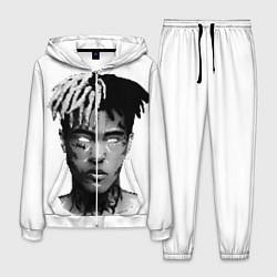 Костюм мужской XXXTentacion: Pixel Art цвета 3D-белый — фото 1