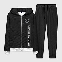 Костюм мужской Mercedes AMG: Sport Line цвета 3D-белый — фото 1