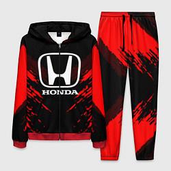 Костюм мужской Honda: Red Anger цвета 3D-красный — фото 1