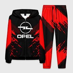 Костюм мужской Opel: Red Anger цвета 3D-черный — фото 1