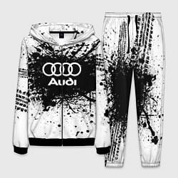 Костюм мужской Audi: Black Spray цвета 3D-черный — фото 1