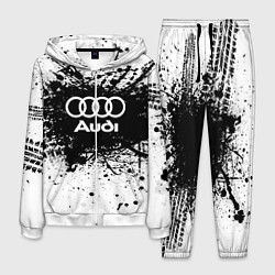 Костюм мужской Audi: Black Spray цвета 3D-белый — фото 1
