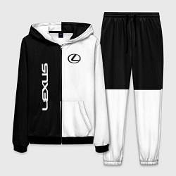 Костюм мужской Lexus: Black & White цвета 3D-черный — фото 1