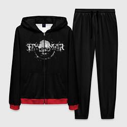 Костюм мужской Five Finger: Death Punch цвета 3D-красный — фото 1