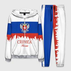 Костюм мужской Crimea, Russia цвета 3D-меланж — фото 1