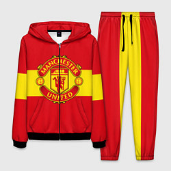 Костюм мужской FC Man United: Red Style цвета 3D-черный — фото 1
