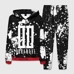 Костюм мужской Paramore: Black & White цвета 3D-красный — фото 1