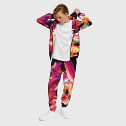 Костюм мужской MUSE: Neon Colours цвета 3D-черный — фото 2