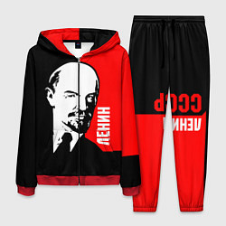 Костюм мужской Хитрый Ленин цвета 3D-красный — фото 1