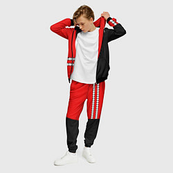 Костюм мужской Twenty One Pilots: Red Style цвета 3D-черный — фото 2