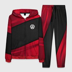 Костюм мужской Volkswagen: Red Sport цвета 3D-красный — фото 1