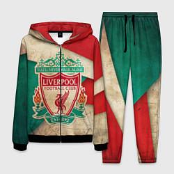 Костюм мужской FC Liverpool: Old Style цвета 3D-черный — фото 1
