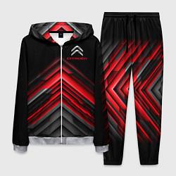Костюм мужской Citroen: Red sport цвета 3D-меланж — фото 1