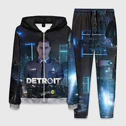 Костюм мужской Detroit: Connor цвета 3D-меланж — фото 1
