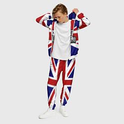 Костюм мужской Sex Pistols UK цвета 3D-белый — фото 2