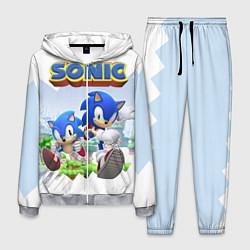 Костюм мужской Sonic Stories цвета 3D-меланж — фото 1