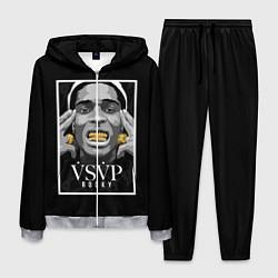 Костюм мужской ASAP Rocky: Gold Edition цвета 3D-меланж — фото 1