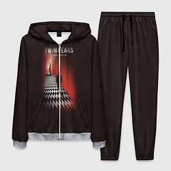 Костюм мужской Twin Peaks: Firewalk with me цвета 3D-меланж — фото 1