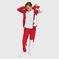 Костюм мужской RHCP: Red Style цвета 3D-красный — фото 2