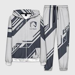 Костюм мужской Team Liquid: Grey E-Sport цвета 3D-белый — фото 1