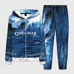 Костюм мужской God of War: Sea rage цвета 3D-белый — фото 1