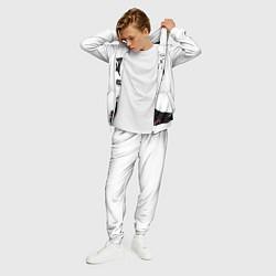 Костюм мужской XXXtentacion: Darkman цвета 3D-белый — фото 2