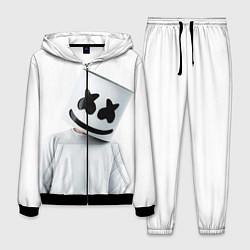 Костюм мужской Marshmallow: White Only цвета 3D-черный — фото 1