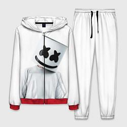 Костюм мужской Marshmallow: White Only цвета 3D-красный — фото 1