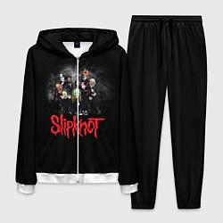 Костюм мужской Slipknot Band цвета 3D-белый — фото 1