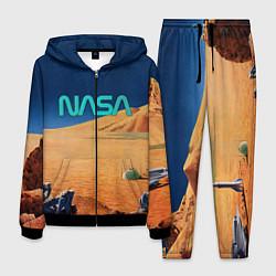Костюм мужской NASA on Mars цвета 3D-черный — фото 1