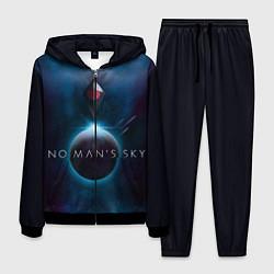 Костюм мужской No Man's Sky: Dark Space цвета 3D-черный — фото 1