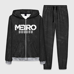 Костюм мужской Metro Exodus: Space Grey цвета 3D-меланж — фото 1