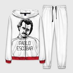 Костюм мужской Pablo Escobar цвета 3D-красный — фото 1