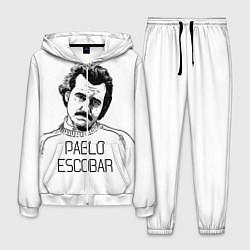 Костюм мужской Pablo Escobar цвета 3D-белый — фото 1