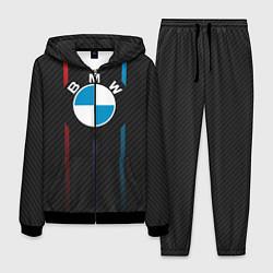 Костюм мужской BMW: Three Lines цвета 3D-черный — фото 1