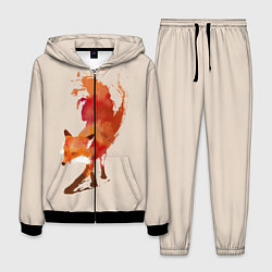 Костюм мужской Paint Fox цвета 3D-черный — фото 1