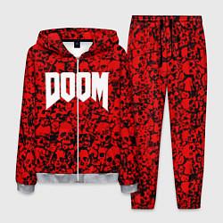 Костюм мужской DOOM: Blooded Skuls цвета 3D-меланж — фото 1