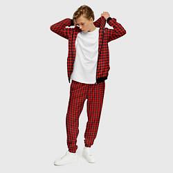 Костюм мужской Off-White: Red Fashion цвета 3D-черный — фото 2
