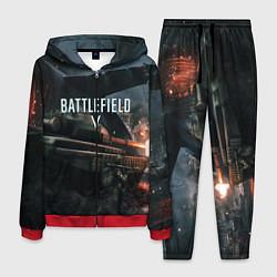 Костюм мужской Battlefield V цвета 3D-красный — фото 1